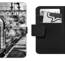 Class 40 Black and White picture on mobile phone flip case