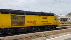 Class 43 HST of the Network Rail new measurement train