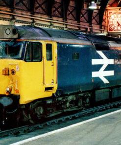 English Electric Class 50 50009 Conqueror at London Paddington railway station