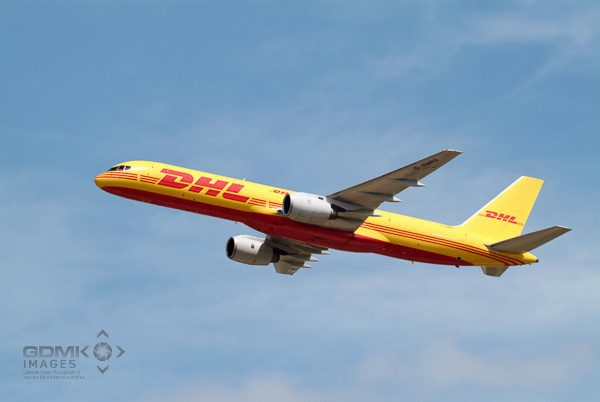DHL Boeing 757 Aeroplane