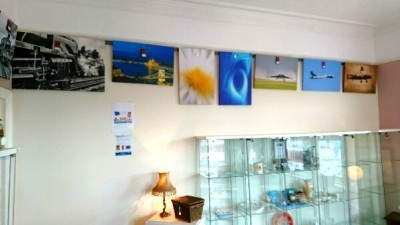 GDMK Images pictures on wall inside Sandiacre Antiques Emporium 1