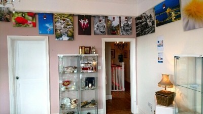 GDMK Images pictures on wall inside Sandiacre Antiques Emporium 2