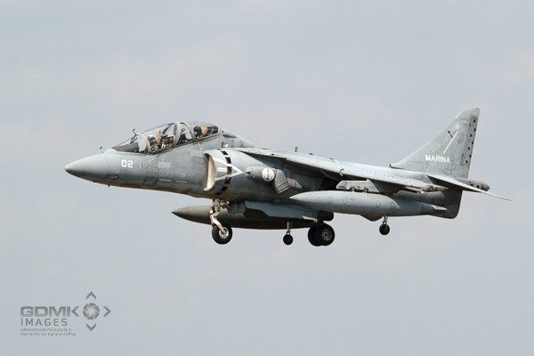 Italian Navy AV8 Harrier