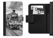 LMS Ivatt 46521 picture on mobile phone flip case
