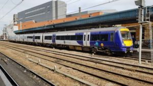 Northern Class 170 at Doncaster