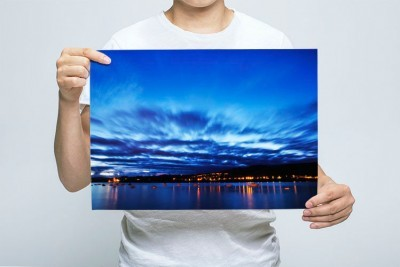 Person holding the GDMK Images River Teign picture