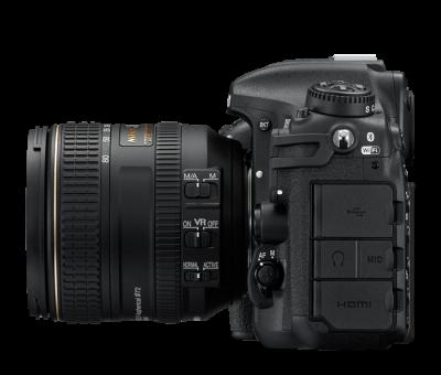 Nikon D500 Side View