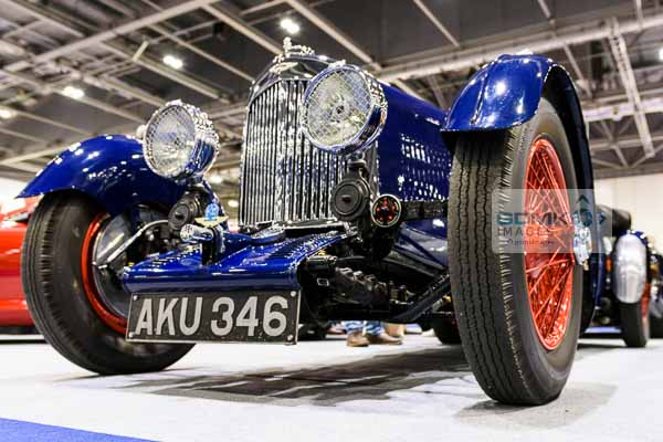 1935 Aston Martin MkII Long Chassis Tourer on display at the 2016 London Classic Car Show