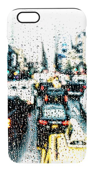 Abstract Rainy Day in New York iPhone 6 Mobile Phone Case