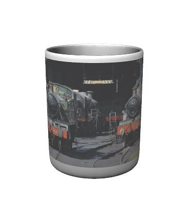 steam Trains Mug