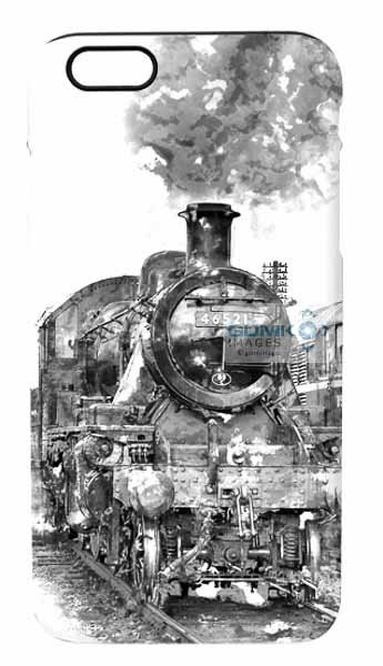 LMS Ivatt 46521 Digital Art iPhone 6 Mobile Phone Case