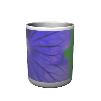 Blue Geranium Mug