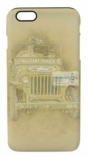 WW2 Military Police Willy Jeep iPhone 6 Mobile Phone Case