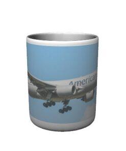 American Airlines 777 Mug