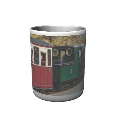 Narrow Gauge steam Mug