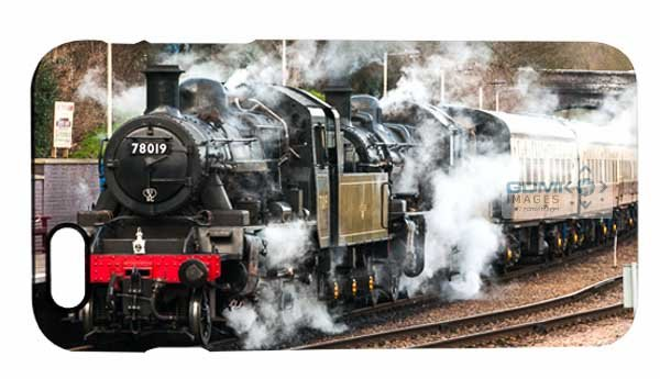 Double Headed Steam Train iPhone 6 Mobile Phone Case