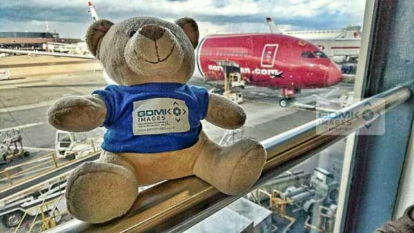 Ted waiting for the first leg of his tedontourusa trip via a brand new Norwegian Boeing 787 Dreamliner