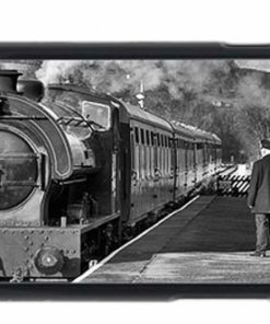 Steam train at Darley Dale iPhone 6 Mobile Phone Case-2