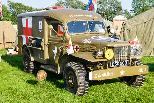 Dodge WC-54 ambulance at the War and Peace Revival Show