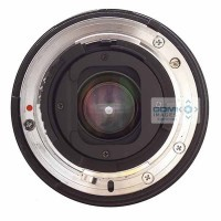 Lens showing Narrow Aperture