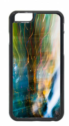 Abstract Multicoloured Light Trails Mobile Phone Case