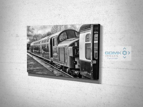 Black and White Class 40 D335 Canvas Print