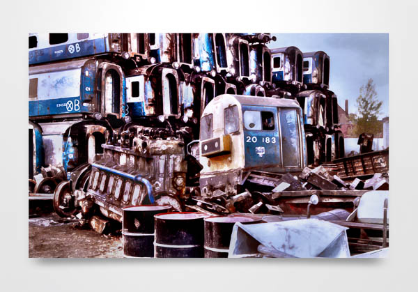 Class 20 End of the Line Wall Art Print