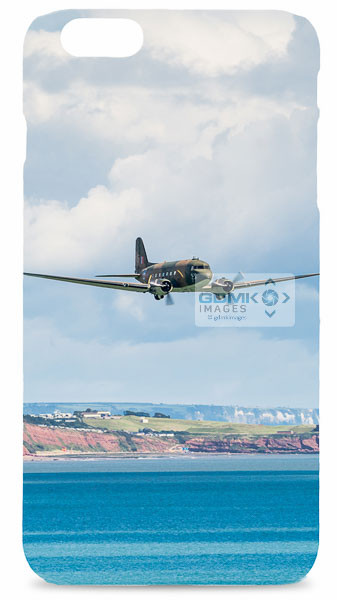 C47 Dakota Over Sea Mobile Phone Case