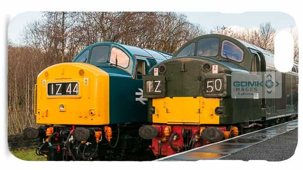 Class 40 D345 and D335 at Rawtenstall Mobile Phone Cases