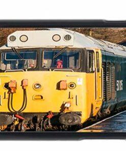 Class 50 50015 Valiant at Rawtenstall Railway Station Mobile Phone Case