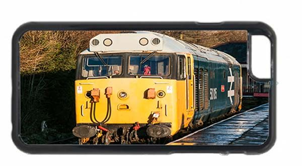 Class 50 50015 Valiant at Rawtenstall Railway Station Mobile Phone Case