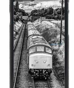 Black and White Class 45 Loco Mobile Phone Case
