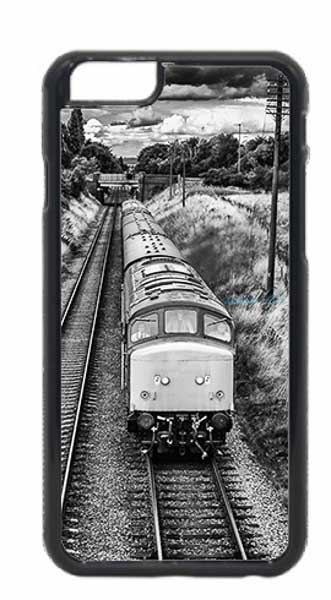 Black and White Class 45 Loco Mobile Phone Case