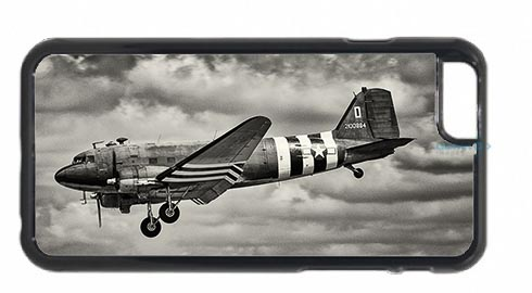 Black and White Dakota Landing Mobile Phone Case