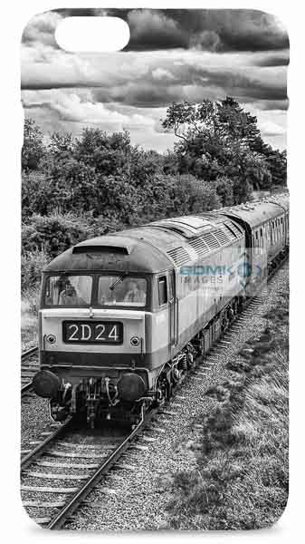 Black and White Class 47 Mobile Phone Case
