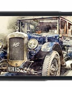 Austin 16-6 Classic Car Digital Art Mobile Phone Case