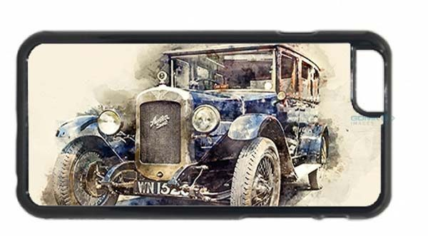 Austin 16-6 Classic Car Digital Art Mobile Phone Case