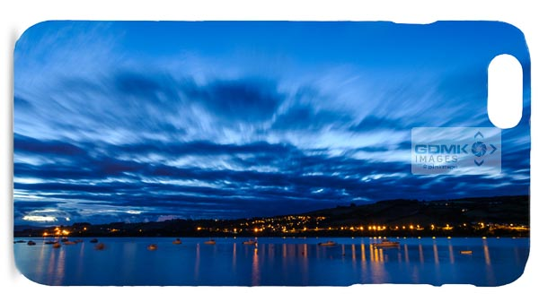 River Teign Blue Hour Mobile Phone Case