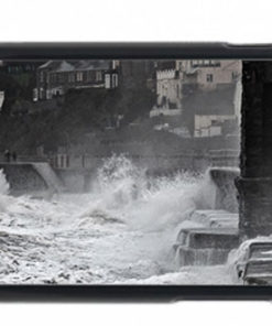 Waves Pounding Dawlish Sea Wall Mobile Phone Case