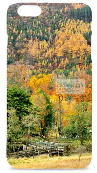 Wooden Bridge in Glen Nevis Mobile Phone Case