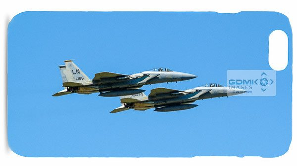 F-15 Pairs Take Off Mobile Phone Case