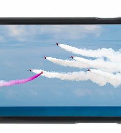 Red Arrows Over The Sea Mobile Phone