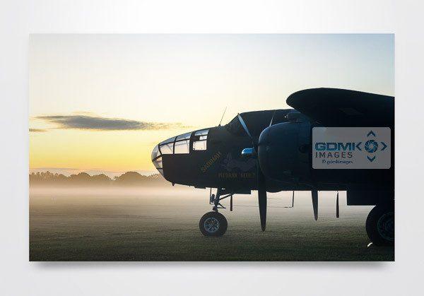Mitchell B-25 Bomber Wall Art Print