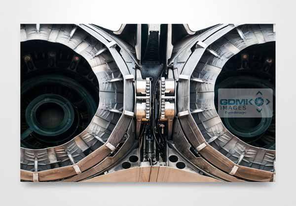 Tornado Jet Exhaust Wall Art Picture