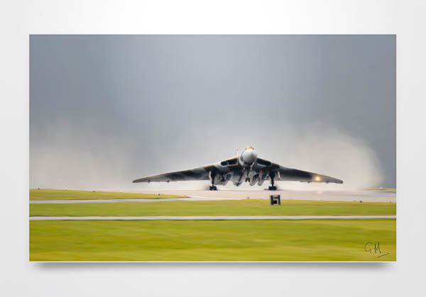 Vulcan Digital Art Wall Art Print