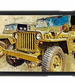 2 Hodgkiss Jeeps Digital Art Mobile Phone Case