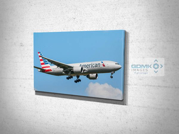 American Airlines Boeing 777 Airplane Canvas Print