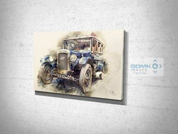 Austin 16 Classic Car Canvas Print