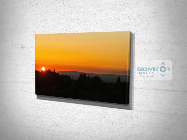 Peak District Sunset Canvas Print