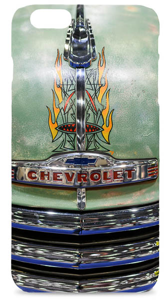 Bonnet Artwork on a Chevrolet Truck Mobile Phone Case